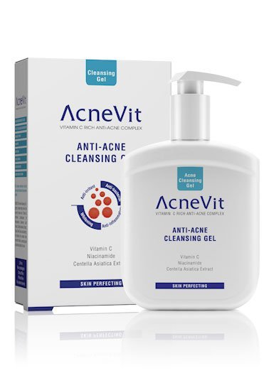AcneVit Anti-Acne Cleansing Gel – 200ml-700
