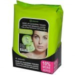 Absolute New York Cucumber Extract Make Up Tissues – 33wipes