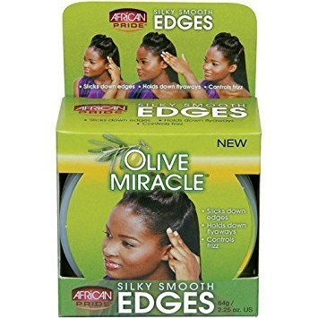 African Pride Olive Miracle Silky Smooth Edges-0