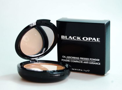 Black Opal Oil Absorbing Pressed Powder - Cappuchino -0