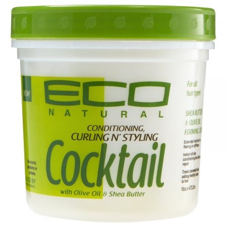 ECO COCKTAIL SHEA & BUTTER CURLING & STYLING CREME-0