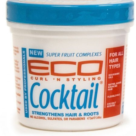 Eco Curl 'N Styling Cocktail, Strengthens Hair & Roots, 16 oz -0