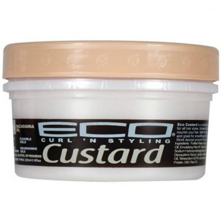 Eco Custard Macadamia Oil Conditioning,Shining & Styling Cream-0
