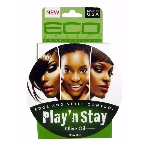 Eco Styler Play N Stay Edge & Style Control Olive Oil Pomade-0