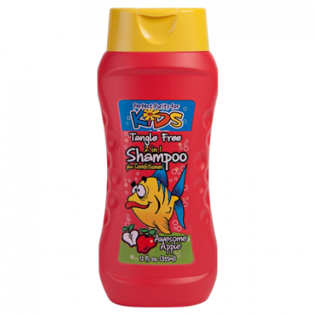Perfect Purity Kids Awesome Apple 2-in-1 Shampoo Plus Conditioner
