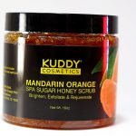 Kuddy Cosmetics Mandarin Orange Spa Sugar Honey Scrub
