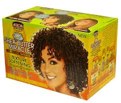 AFRICAN PRIDE SHEA BUTTER MIRACLE TEXTURE SOFTENING ELONGATING SYSTEM-0