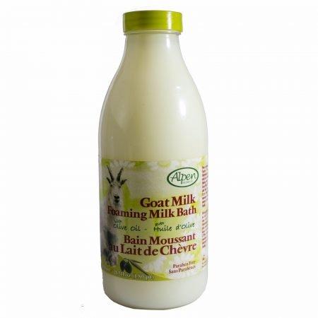 Alpen Secrets Goat Milk Foaming Milk Bath- (Olive Oil)-0