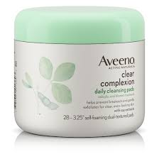 AVEENO® CLEAR COMPLEXION DAILY CLEANSING PADS-0