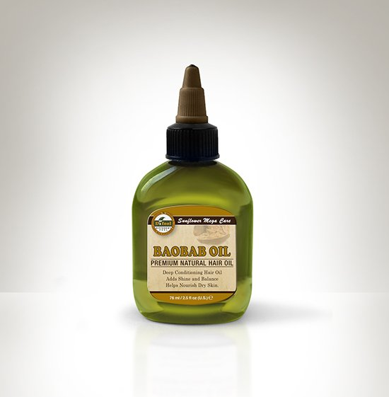 Sunflower Mega Care Premium Natural Hair Oil- Baobab Oil-0