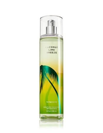 Bath & Body Works Coconut Lime Breeze Body Mist 236ml-0