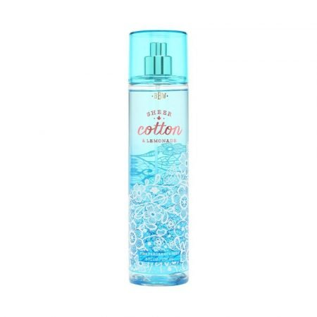 Bath & Body Works Fine Fragrance Mist Sheer Cotton & Lemonade 8oz-0