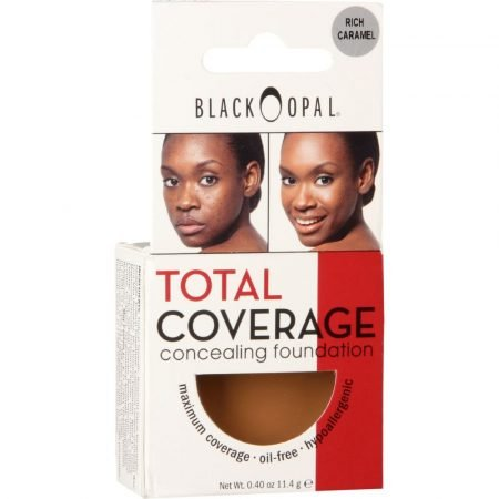 Black Opal Total Coverage Concealing Foundation- Rich Caramel-0
