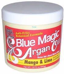BLUE MAGIC ARGAN OIL MANGO AND LIME LEAVE IN CONDITIONER - 13.75OZ-0