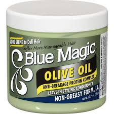 BLUE MAGIC Olive Oil Leave-In Styling Conditioner-0
