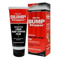 HIGH TIME LIQUID BUMP STOPPER PLUS INSTANT RAZOR RASH RELIEF – 2OZ