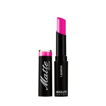 Absolute New York Matte Lipstick- Cerise Pink-0