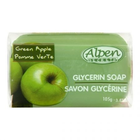 Alpen Secrets Glycerin Bar Soap- Green Apple-0