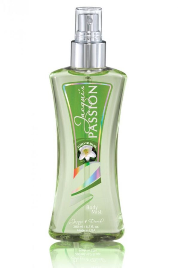 Jacqui & David's JD Passion Forever Musk Body Mist 200ml-0