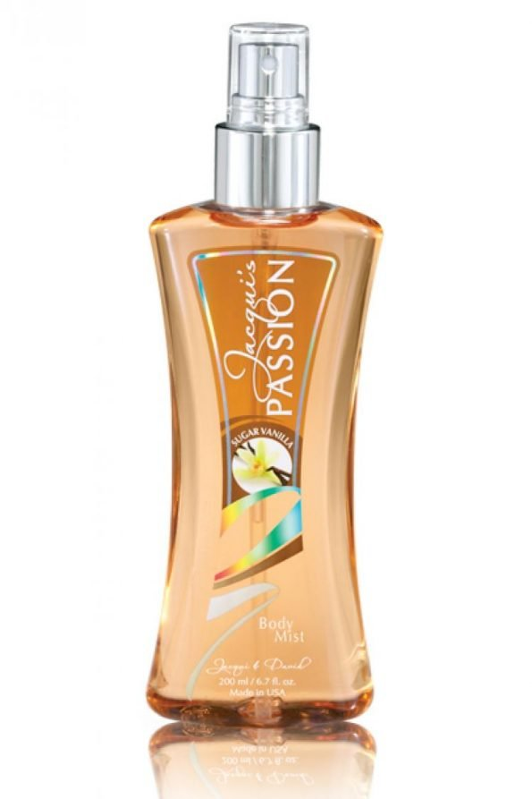 Jacqui & David's JD Passions Sugar Vanilla Body Mist 50ml-0