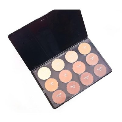 Kuddy Cosmetics Kuddy 12 Color HD Powder Palette