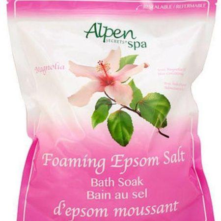 Alpen Secrets Foaming Epsom Salt - Magnolia -0