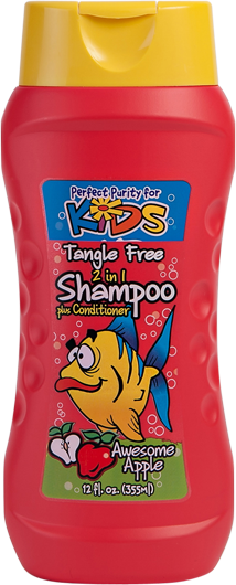 Perfect Purity Kids Awesome Apple 2-in-1 Shampoo Plus Conditioner-0