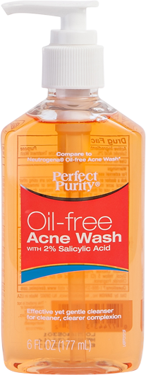 Perfect Purity Oil-Free Acne Wash with 2% Salicylic Acid-0