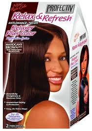 Profectiv Relax & Refresh - Relaxer plus Color Kit 2 Touch-Up Application Mahogany Brown #11-0