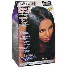 Profectiv Relax & Refresh - Relaxer plus Color Kit 2 Touch-Up Application Silky Black #19-0