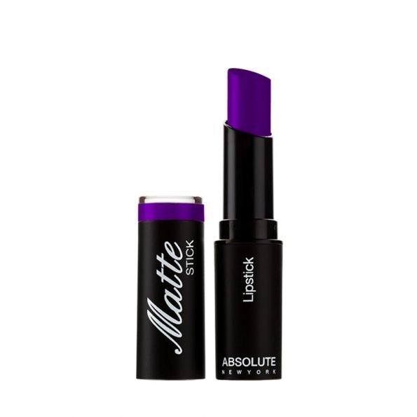 Absolute New York Matte Lipstick- Purple Heart-0