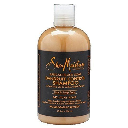 Shea Moisture African Black Soap Dandruff Control Shampoo-0