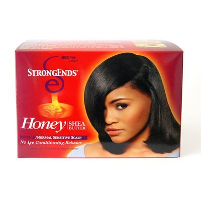Strong Ends Honey Shea Butter Conditioning Relaxer- Regular-0