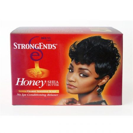 Strong Ends Shea Butter Conditioning Relaxer- Super-0