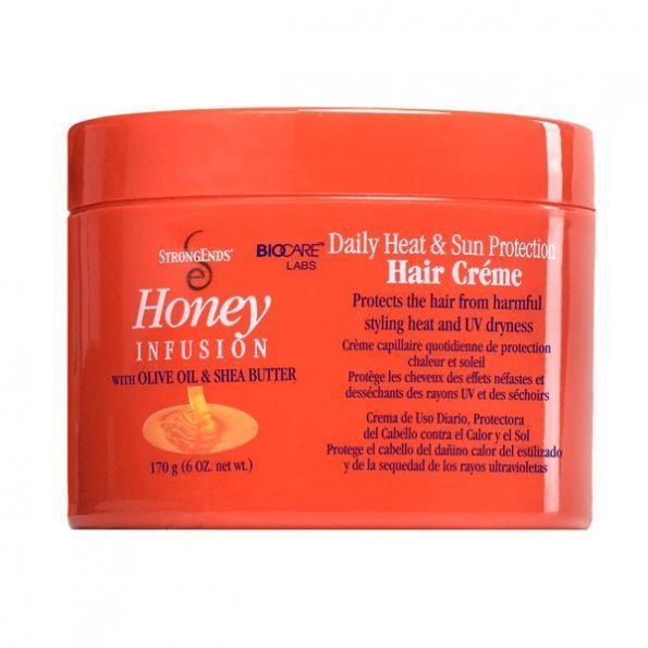 Strong Ends Daily Heat & Sun Protection Hair Creme-0
