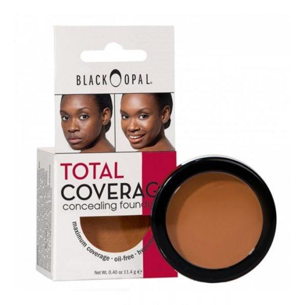 Black Opal Total Coverage Concealing Foundation- Hazelnut-0