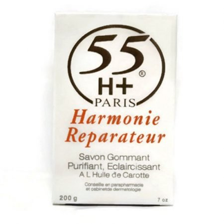 55H+ Harmonie Reparateur Exfoliating Purifying Lightening Soap With Carrot Oil 7 oz-0