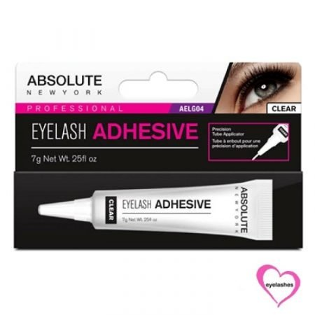 Absolute Eyelash Glue with Brush Clear AELG04-0
