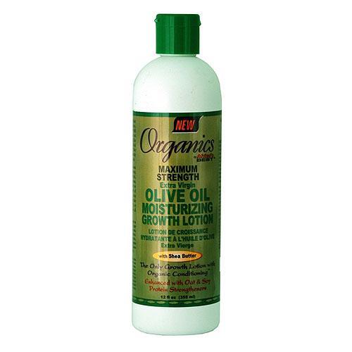 Organics Maximum Strength Olive Oil Moisturizing Growth Lotion-0