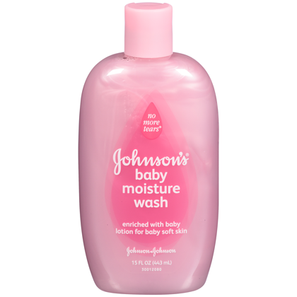 JOHNSON'S® Baby Moisture Wash Pink 15oz-0