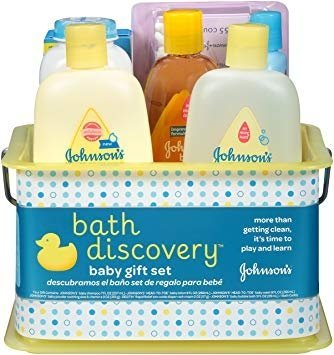 Johnson' s Bath Discovery Baby Gift Set-0