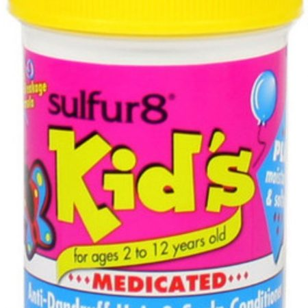 Sulfur8 Kid's Medicated Anti-Dandruff Hair and Scalp Conditioner, 4oz-0