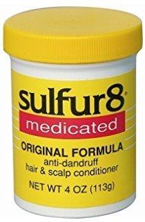 Sulfur8 Medicated Regular Formula Anti-Dandruff Hair and Scalp Conditioner 2oz