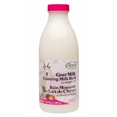 Alpen Secrets Goat Milk Foaming Milk Bath with Argan Oil -0