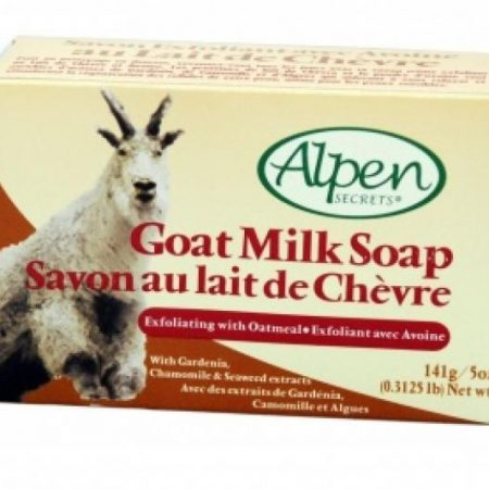 Alpen Goat Milk Exfoliating Oatmeal Soap 141g-0