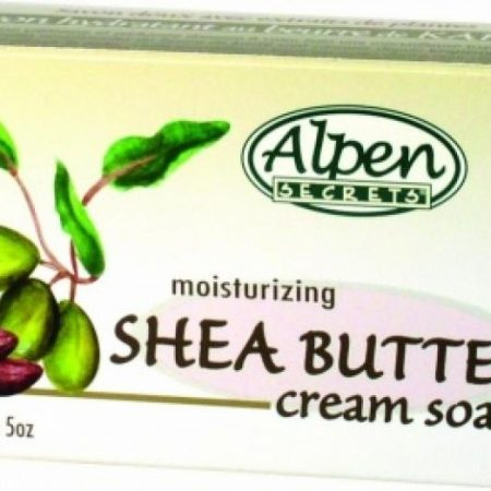 Alpen Moisturizing Shea Butter Cream Soap 141g-0