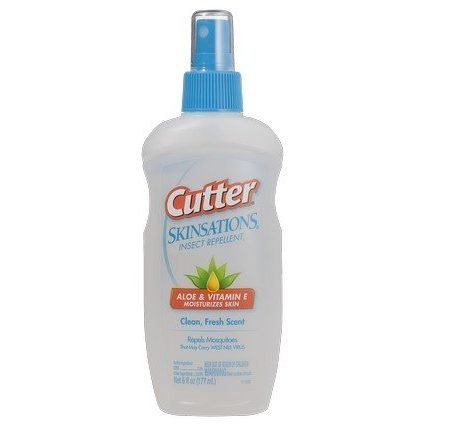 Cutter Skinsations Insect Repellent (with Aloe & Vit E) 222ml-0
