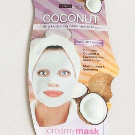 Beauty Treat Ultra Hydrating Shea Butter Mask Coconut- 10ml-0