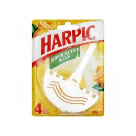 Harpic Super Active Block – Yellow