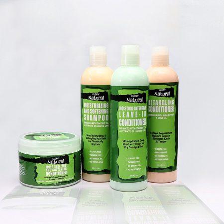 Kuddy Natural Hair Care Set